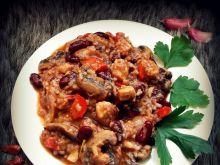 Risotto z kurczakiem na meksykańską nutę