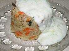 Risotto z wieprzowiną i włoszczyzną