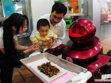 Robotyczna restauracja w Chinach!