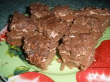 Rodzynkowiec z kremem czekoladowym