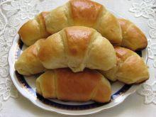Rogaliki drożdżowe z serem