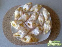 Rogaliki z ciasta francuskiego 3