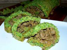 Rolada brokułowa z mięsem