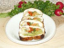 Rolada drobiowa z warzywami