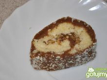rolada kokosowo-kakaowa