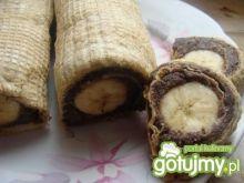 Rolada makowo -bananowa