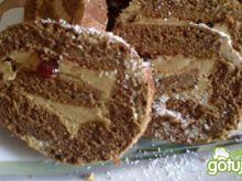 rolada mocno czekoladowa