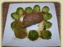 Rolada śląska z warzywami z pary