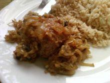 Rolada wieprzowa pieczona w cebulce
