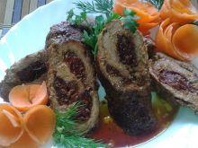 Rolady wieprzowe z pesto oraz suszonymi pomidorami