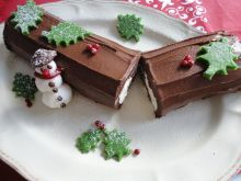 Rolada Yule Log