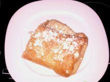 Rolada z jabłkami z ciasta francuskiego