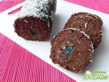 Rolada z masą kokosowo-kakaową