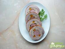 Rolada z mięsa wieprzowego z kiełbasą
