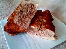 Rolada z mięsem mielonym z gęsi