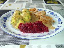 Rolada z polędwicy wieprz. z pesto i szynką Serano