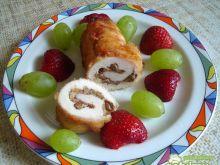 Roladki drobiowe na słodko
