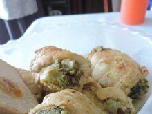 Roladki drobiowe z brokułami