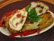 Roladki drobiowe z papryką i suszonymi pomidorami