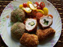 Roladki drobiowe z serem i szpinakiem
