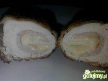 Roladki drobiowe z serem i szynką