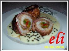 Roladki rybne Eli w sosie pieprzowym