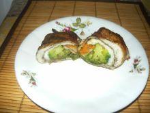 Roladki rybne z warzywami na patelnię