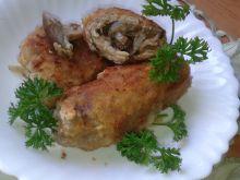 Roladki schabowe z grzybami leśnymi