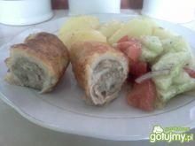 roladki schabowe z serem i pieczarkami