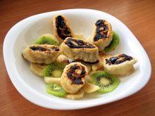 roladki z bakaliami na owocach