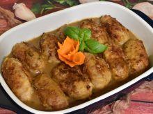 Roladki z mięsa mielonego, chrzanu i ziemniaków