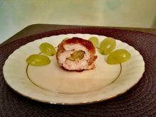 Roladki z indyka z winogronami