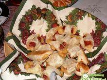 Roladki z kabanosem i serem