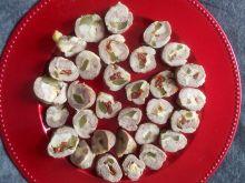 Roladki z karkówki z pomidorkami suszonymi