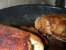 Roladki z kurczaka nadziewane serem
