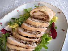 Roladki z kurczaka pod beszamelem