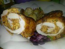 Roladki z kurczaka z bazylią