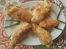 Roladki z kurczaka z brzoskwinią i gorgonzolą