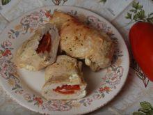 Roladki z kurczaka z mozzarellą i pomidorem