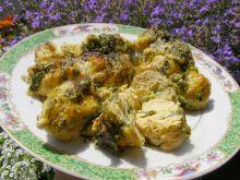 Roladki z kurczaka z pietruszką i mozzarellą