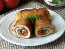 Roladki z kurczaka z salami