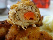 Roladki z kurczaka z serem i papryką