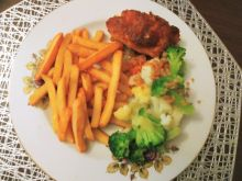 Roladki z kurczaka z suszoną żurawiną i serem