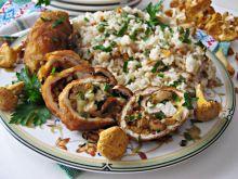 Roladki z kurkami, serem i pietruszką