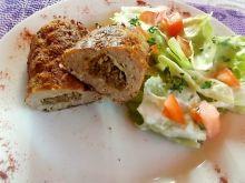 Roladki z mięsa mielonego i pieczarek