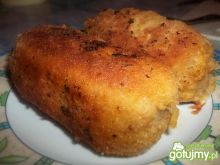 Roladki z mięsa mielonego w panierce