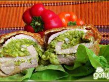 Roladki z pastą brokułową