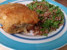 Roladki z serem i szynką