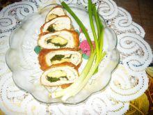 Roladki z serem i zieleniną