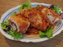 Roladki z suszonymi pomidorami